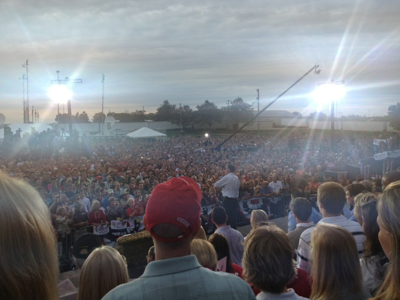 Romney/Ryan in Waukesha, WI
