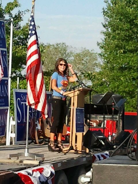 Sarah Palin at The Berry Patch, Cleveland, MO, Friday, August 3rd, 2012
