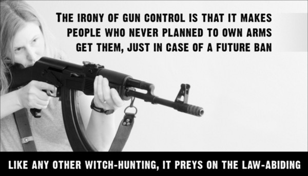 Irony of Gun Control