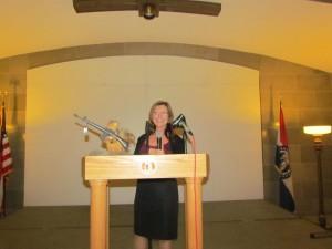 Beth Ann, Gun Rights Rally MC